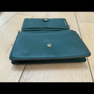 Michael Kors Bags - Michael Kors Leather Wallet with Strap